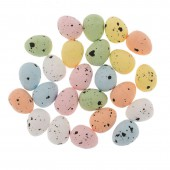 Quail eggs, 24 pcs assorted