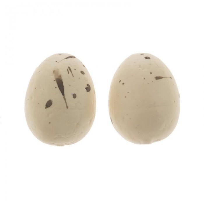 Quail eggs, 12pcs, cream