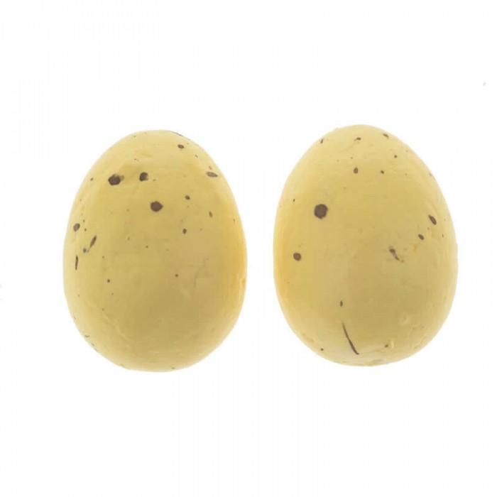 Oeufs de caille couleur jaune, 12 pcs