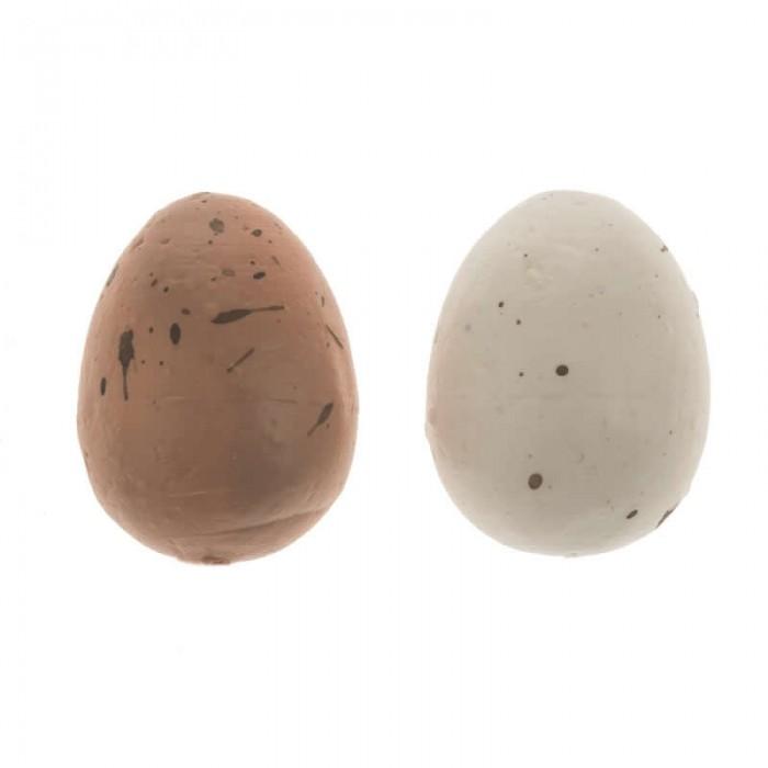 Oeufs de caille blanc/brun, 12 pcs