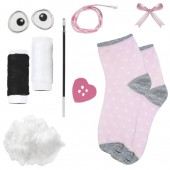 Sock animal kit - Rabbit