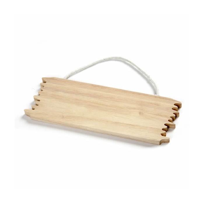 Saloon wooden board 16x5.5cm