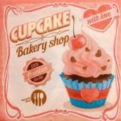 Serviette Cupcake with love, 1 Stk