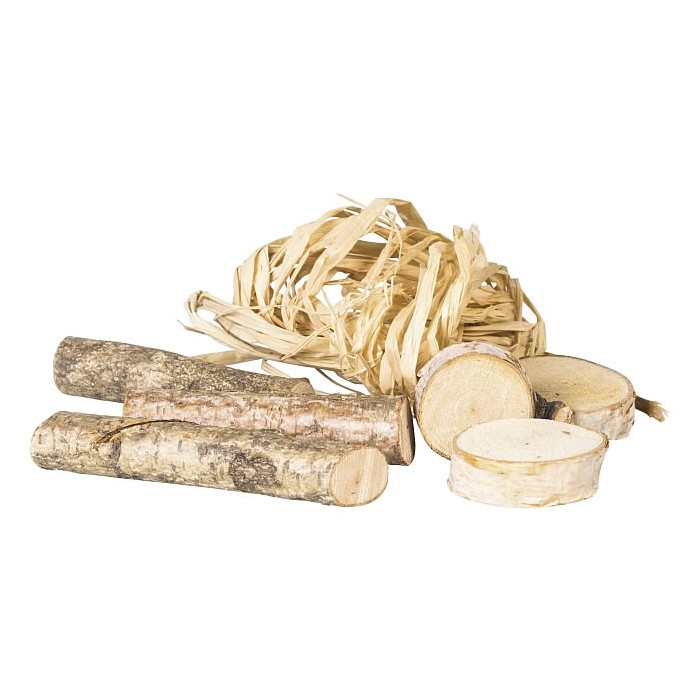 Mélange bois / racines naturel, 60g