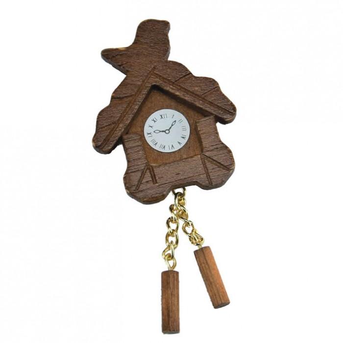 Miniature horloge coucou, 4cm