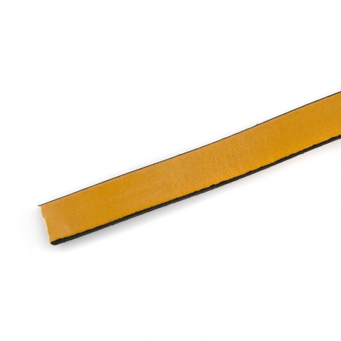 Cuir plat 10mm/20cm, camel