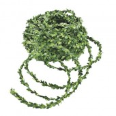 Mini garland of boxwood green, 2.5m