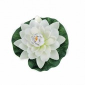 Waterlily white, 17cm, 1 pce
