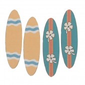 Surfboard, 6.2x1.8cm, 4 pcs