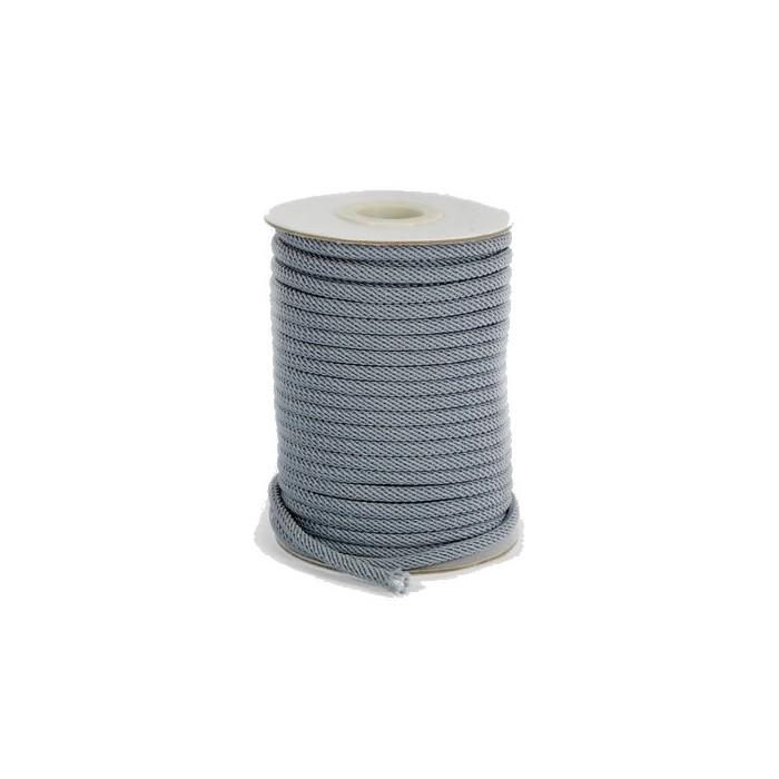 Cord 4mm/+/- 2m grey