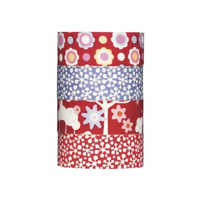Tilda - Rouleaux Tissu adhésif Candy Bloom