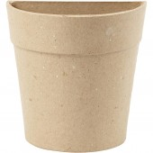Demi-pot en carton H15cm, 1 pce