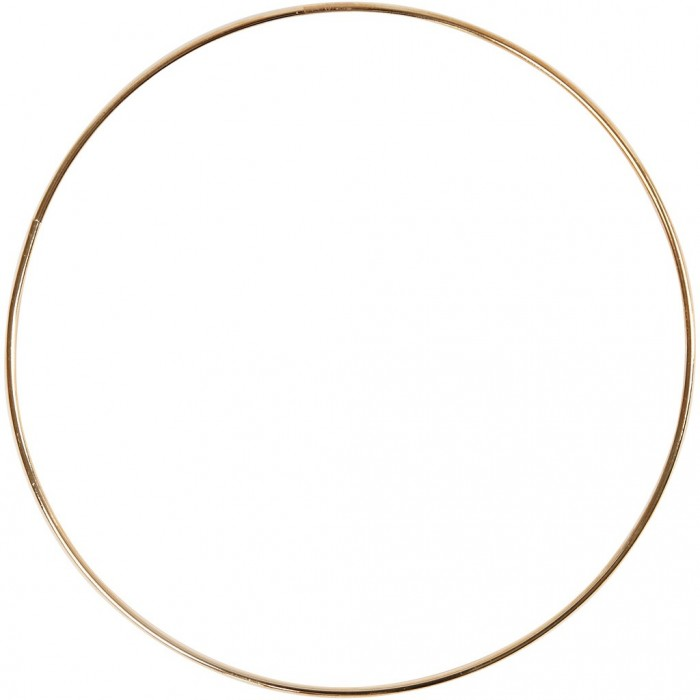 Anneau en métal or, Ø20cm