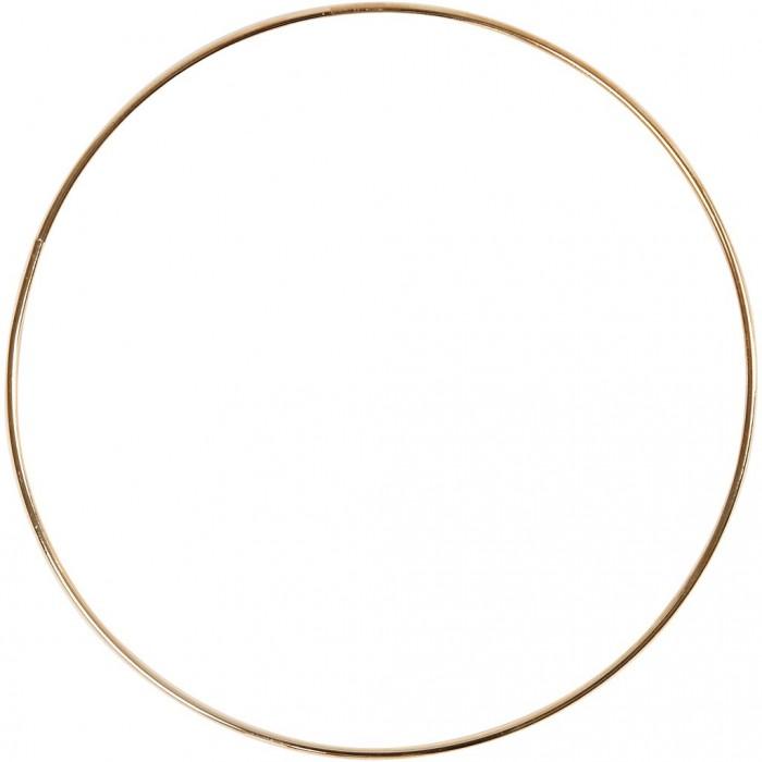 Gold metal ring Ø20cm