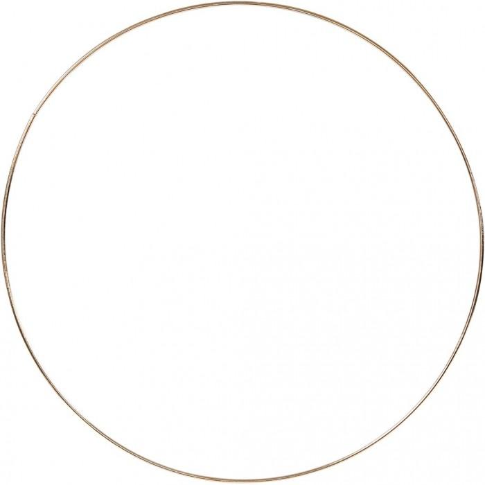 Anneau en métal or, Ø30cm