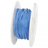 Ficelle de papier armée, 1mm/10m, bleu