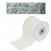 Synthetic fur, 8x200cm, grey