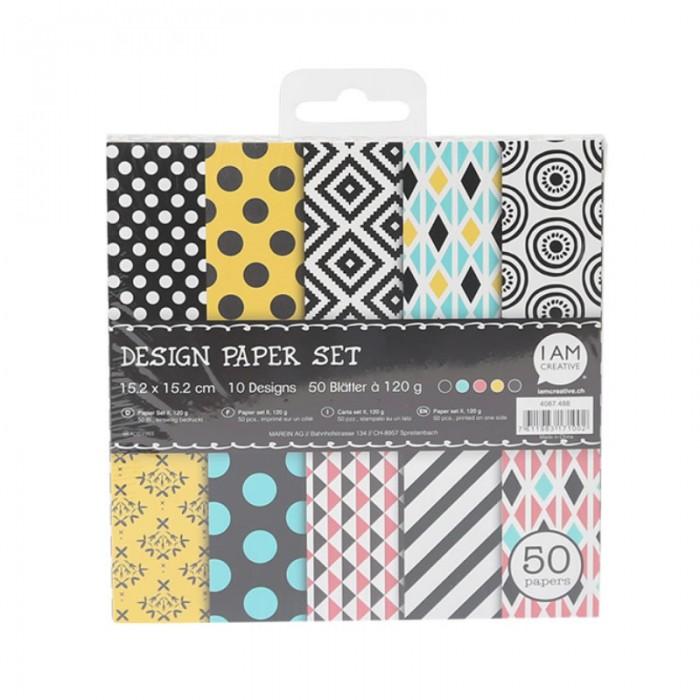 Bloc papiers imprimés, Set 2