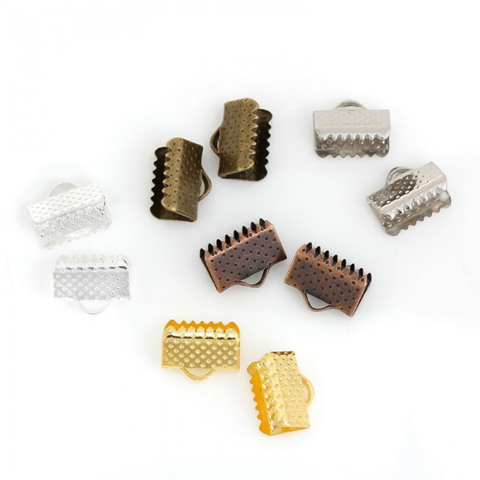Connector for ribbon, 10mm, mix, 250 pcs