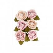 Flores de papel, Secret Garden 30mm, 6 pz