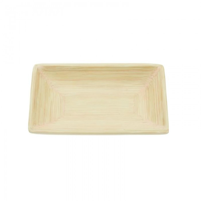 Bamboo dish, 12x8cm