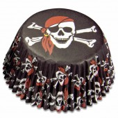 Paper baking cups maxi, pirates