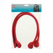 Prym Theresa - Synthetic leather bag handles 60cm, red