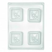 Mould for soap, Olives 6x6cm