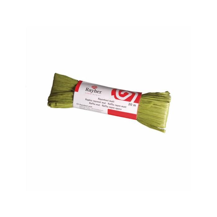 Rarffia matt, olive green