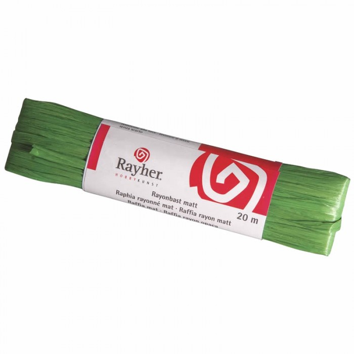 Rarffia matt, green