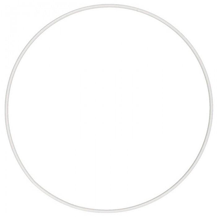 White metal ring Ø35cm