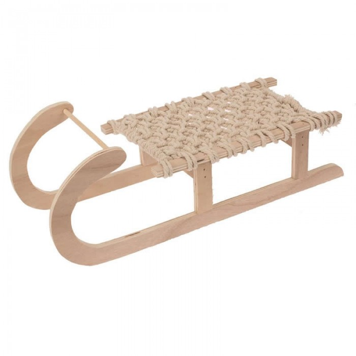 Big size Sled with cord, 40x15x13.5cm