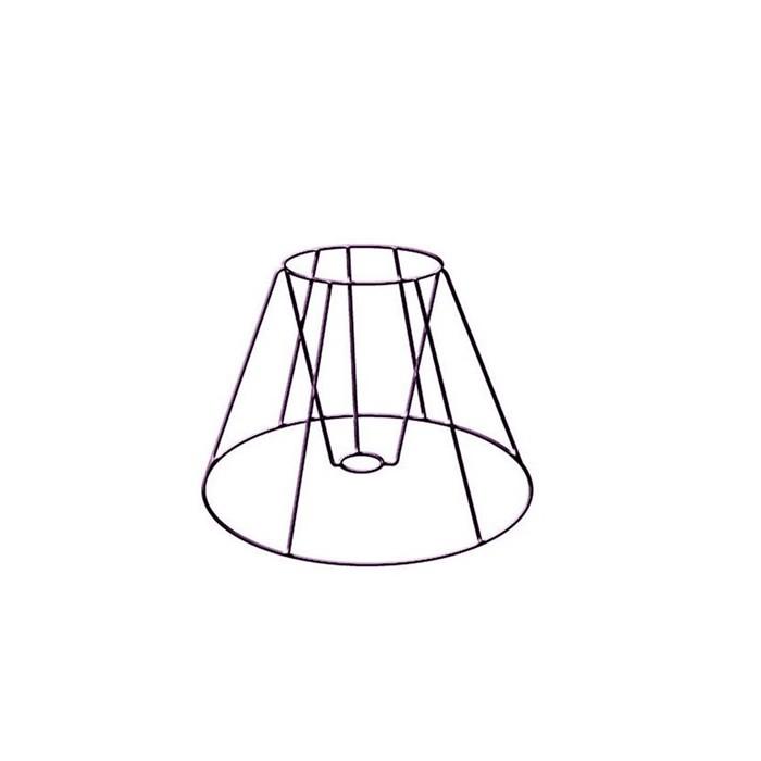 Lamp frame Empire 15cm