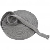 Knitted Tube, grey, 22mm/10m