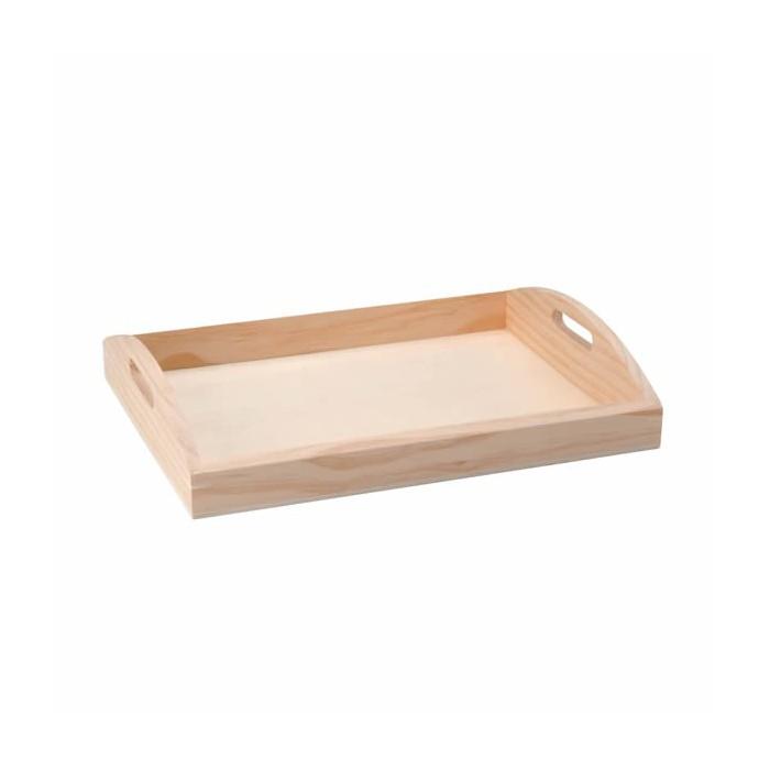 Wooden Tray 37x28.5x7cm
