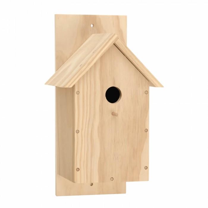 Wooden set bird house  19x15.1x34.6cm