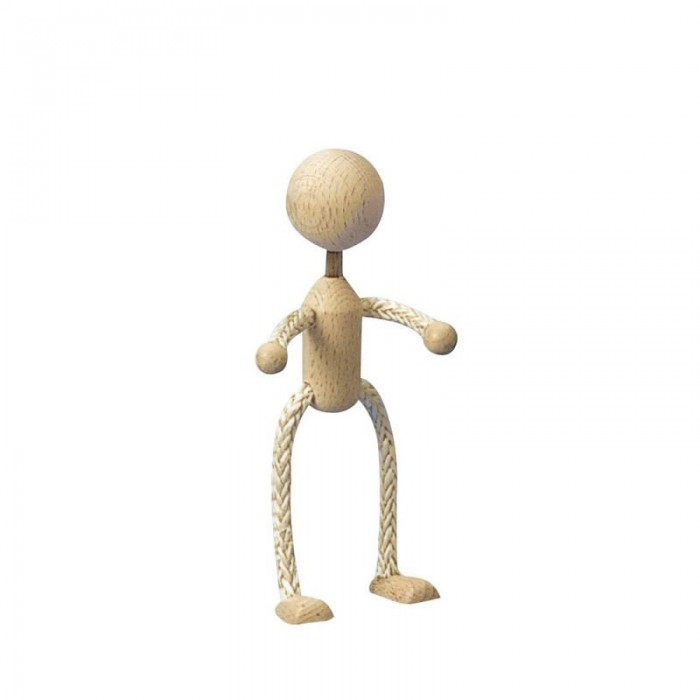 Wooden / sisal doll