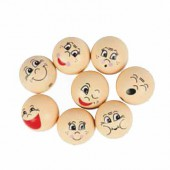 Wooden face 30mm, 3 pcs