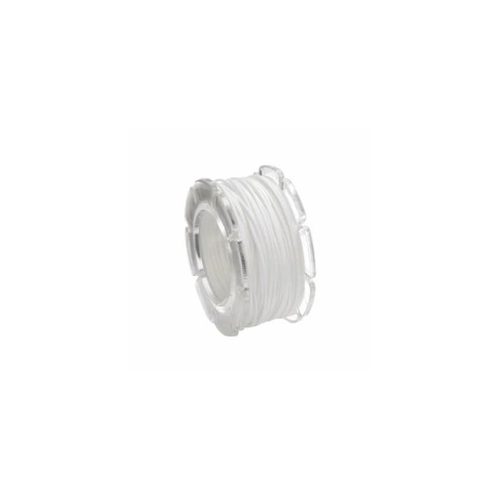 Waxed cord, Ø1mm- 5m, white