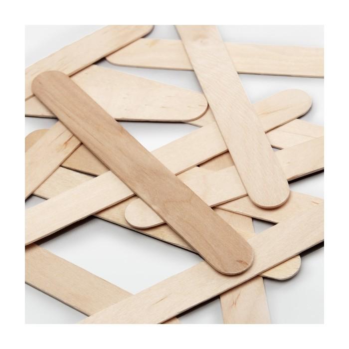 Wooden sticks 18x150mm, 100 pcs