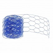 Mesh alu wire, 50mm/2m, blue