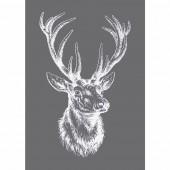 Stencil Edelhirsch (Deer) A5