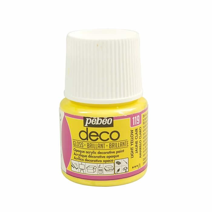Pébo Déco glossy, light yellow