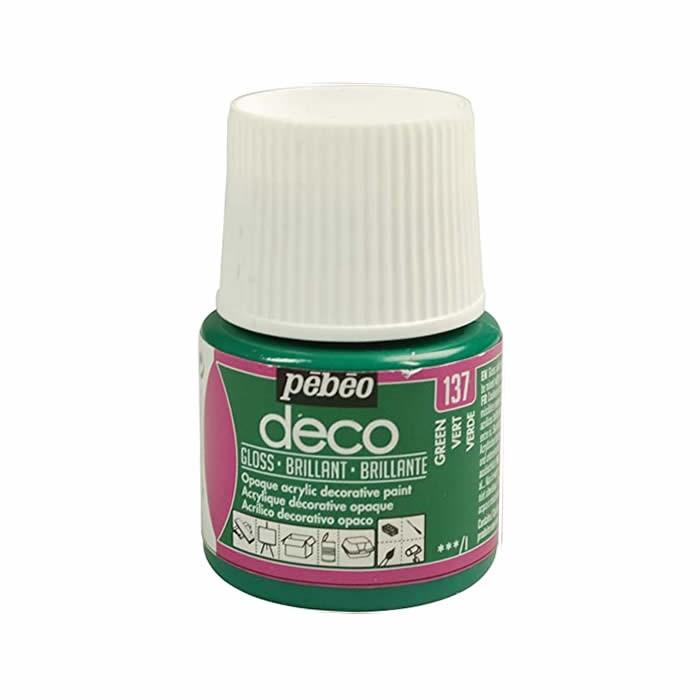 Pébo Déco glossy, green