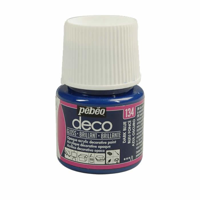 Pébo Déco glossy, dark blue