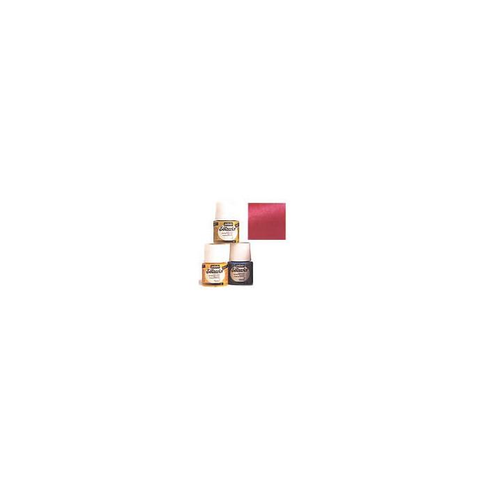 Setacolor opaque, shimmer oriental red
