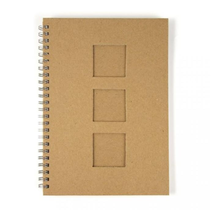 Cardboard Notebook, A5