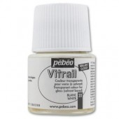 Pébéo Vitrail, bottle 45ml, white