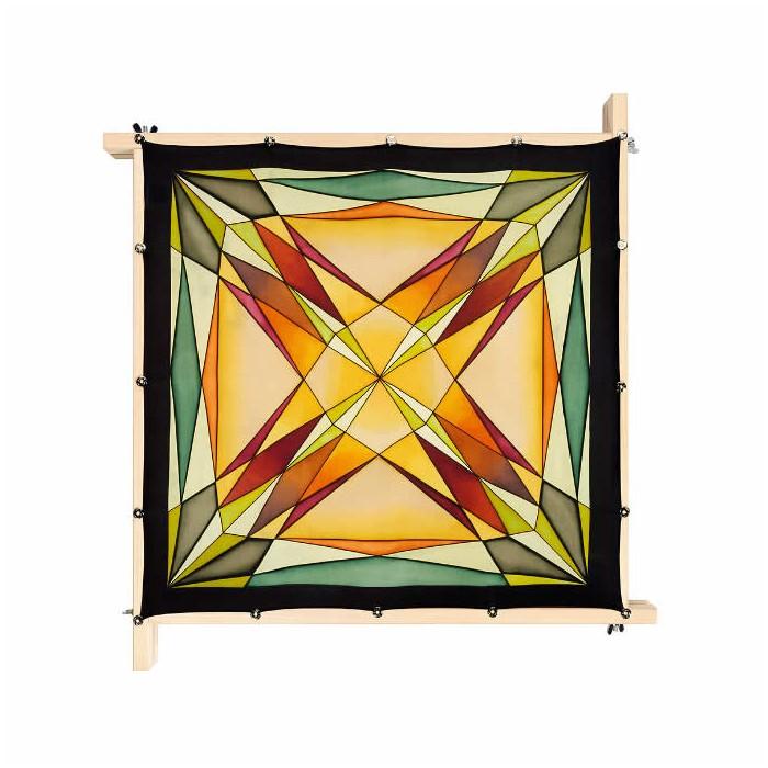 Small scarf Cari, pongé 08, 55x55cm