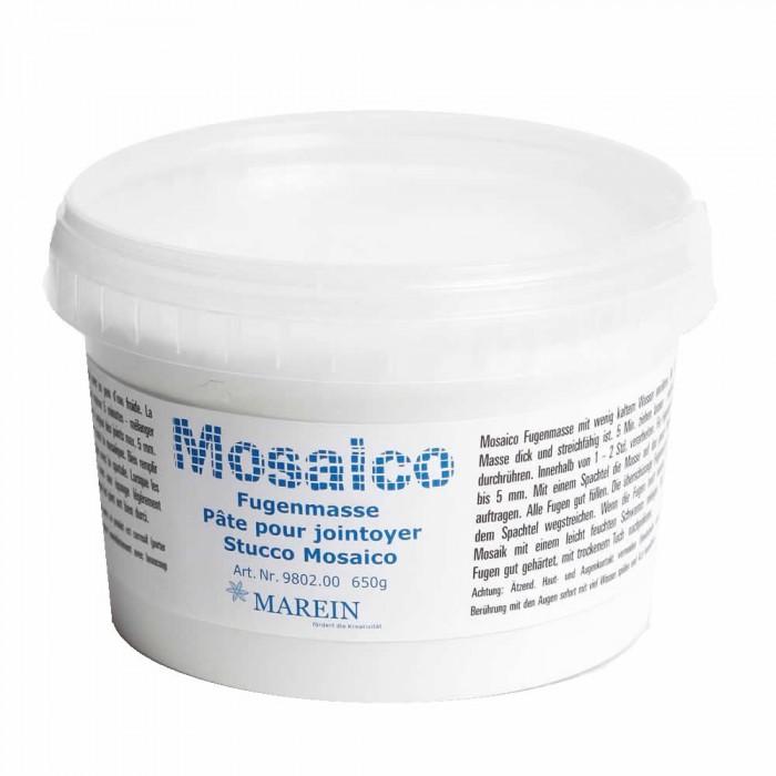 Mosaico - Grout, white, 650g